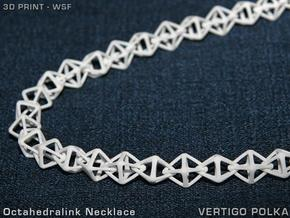 Octahedralink Necklace in White Strong & Flexible