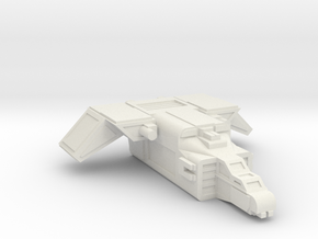 MKII Raptor Gunship in White Strong & Flexible