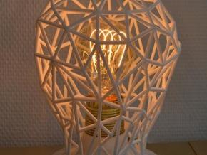 Hommage to the light bulb in White Strong & Flexible