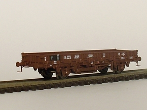 2152 1/148 German train-ferry wagon, 40t-glw low in Frosted Ultra Detail