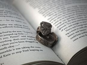 Ravenclaw Ring Size 11 in Stainless Steel