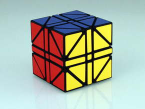 Heritombo Cube (Version 2) in White Strong & Flexible