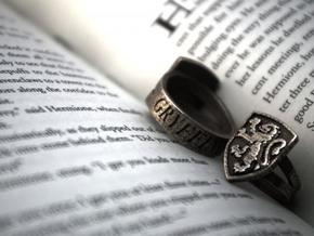 Gryffindor Crest Ring in Stainless Steel