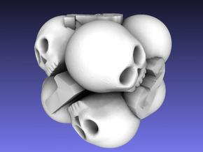 Ossuary d6 in White Strong & Flexible