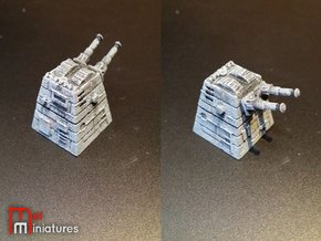 Turbolaser Turret 3.0 in White Strong & Flexible