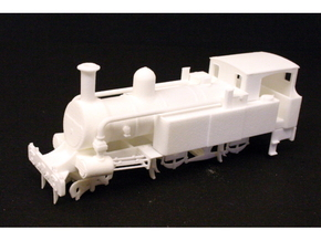 Metropolitan Railway A Class in White Strong & Flexible