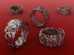Spaghetti ring in Stainless Steel