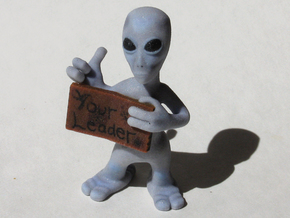 Hitchhiker Alien in Full Color Sandstone
