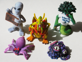 2 Inch Monsters: Batch 03 in Full Color Sandstone