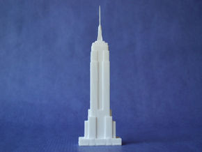 Empire State in White Strong & Flexible