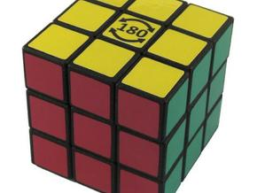 3x3x3 Cube - Limited to 180 degrees on one axis in White Strong & Flexible