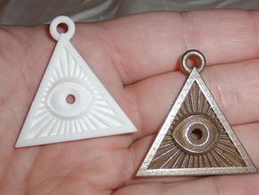 Illuminati -Pendant v1a in Stainless Steel