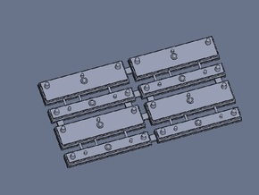 HO PTC Antenna Array for AC 4 Pieces in Frosted Ultra Detail