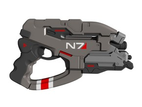 Mass Effect - 1:6 scale - N7 Eagle in Frosted Ultra Detail