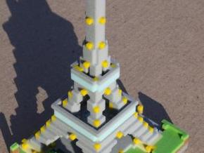 L'Effie, Vokselia's Eiffel Tower, Color $25 in Full Color Sandstone