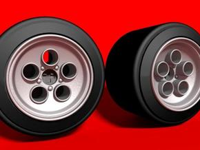 dNano Countech true to scale wheels in White Strong & Flexible