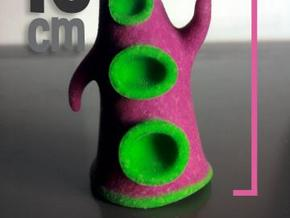 Evil Purple Tentacle (10cm) in Full Color Sandstone