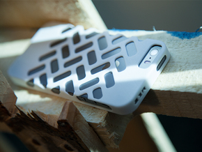 iPhone 5/5s Case - Ventilon in White Strong & Flexible Polished