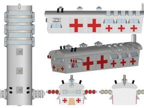 Hospital Ship 1:1200 x1 in White Strong & Flexible
