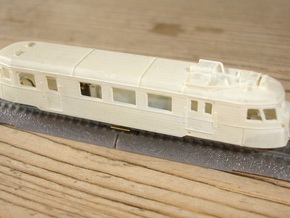A150D No farings + chassis adapter - Zm - 1:220 in Frosted Ultra Detail
