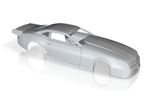 1/43 2012 Pro Mod Camaro Body in Frosted Ultra Detail