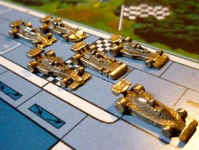 Formula 1 Miniatures - 1976 in Stainless Steel