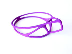 Cup Converter - size L in Purple Strong & Flexible Polished