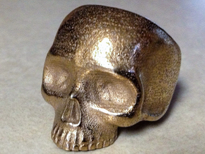Skull Ring V2 - Size 12 in Stainless Steel