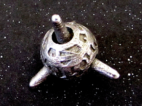 Sputnik Die4 in Stainless Steel
