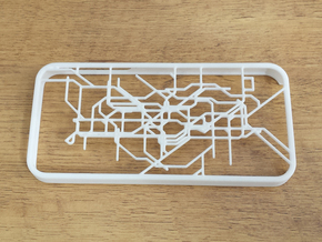 London subway/underground map Iphone 5s case in White Strong & Flexible
