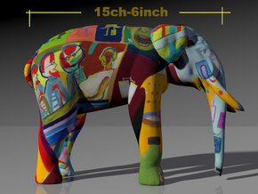 """Elephant Dialysis """"the feeling"""". in Full Color Sandstone"""