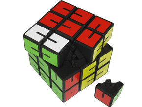 Fall Apart Cube in White Strong & Flexible
