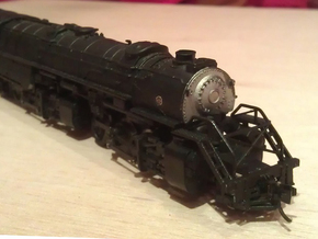 Rowa Y6B 2-8-8-2 Pilot With N Scale MT Coupling in Frosted Ultra Detail