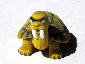 Saber Tooth Tortoise in Full Color Sandstone