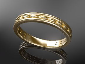 wedding ring design No.278 of 365 days in 14K Gold