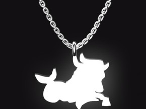CAPRICORN for 12/22~1/19 birth. in Stainless Steel