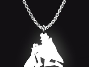 AQUARIUS for 1/20~2/18 birth. in Stainless Steel
