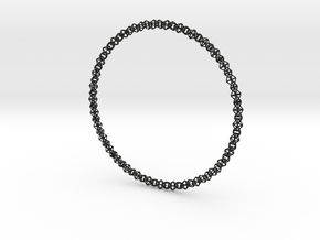 Octahedralink Necklace in Black Strong & Flexible