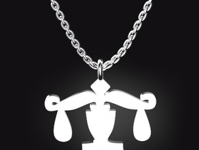 LIBRA for 9/23~10/23 birth day.  in Stainless Steel
