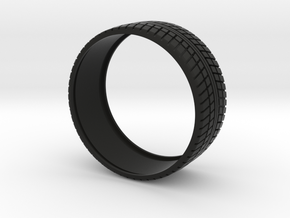 Tire For  Mini Vossen 45mm in Black Strong & Flexible