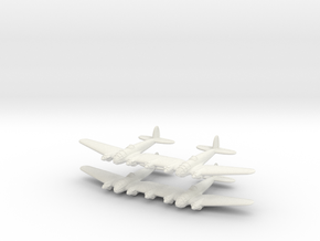 He-111Z Bomber= 1/700 (x2) in White Strong & Flexible