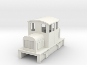 009 Centercab diesel loco 3a in White Strong & Flexible