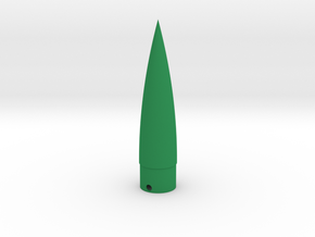 Classic estes-style nose cone BNC-20N replacement in Green Strong & Flexible Polished