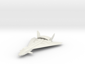 1/144 Falcon Aerospace Fighter in White Strong & Flexible