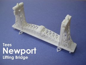 Tees Newport Bridge (1:1200) in White Strong & Flexible