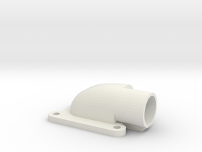 Inlaat Spruitstuk 001 Netfabb in White Strong & Flexible