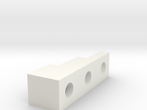 Front Block in White Strong & Flexible