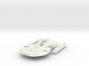 Clayton Class HvyDestroyer in White Strong & Flexible