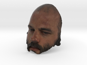 Mask needs a beard in Full Color Sandstone