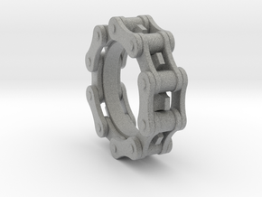 Bicycle Chain Ring in Metallic Plastic
